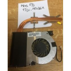 Ventilateur CPU Fan ASUS connecteur 4 pins F3JC